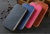 High Quality FOR HUAWEI Y600 Leather Case Flip Cover HUAWEI Y600  Case Phone Cover In Stock Free Shipping