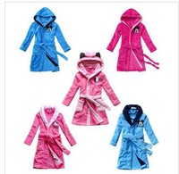 cartoon Minnie children cute girls robe winter the boy robe children robe Children's Clothing Sleepwear
