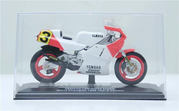 1/22 FreeShipping ITALERI DieCast metal motorcycle scale model YAMAHA YZR OW98 500cc. 1988 rider E.Lawson(China (Mainland))