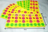 400 smiles (neon colour) school teachers Reward Stickers Kid Fun Gift  Favors Party Supplies Novelties gift