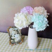 1 PCS Beautiful Artificial Hydrangea Silk Flowers Home Decoration Gift F269