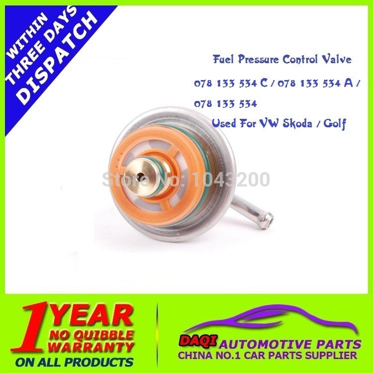 4 Bar Fuel Pressure Control Valve 078-133-534 / 078-133-534 A / 078-133-534 C Fits to VW / SKODA / GOLF / PASSAT /(China (Mainland))