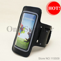 15 pcs/lot Armband Case for samsung galaxy s3 i9300/s4 i9500 Sports Running Arm band Case Black or white Free shipping!
