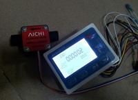 2014  Liquid Fuel Oil Flow meter with 1/2'' diesel gasoline Gear flow sensor