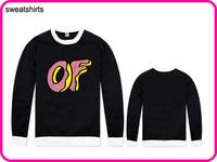 Stock Brand Odd Future Hot Sale Long Sleeve Hoodies Cardigans Coat Women's Hoodies Sports Wear Track Hoodies Sweatshirt