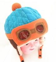 winter the boy girl cashmere earmuffs  cap, baby cute hats children cap winter hats