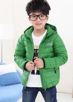 Winter Kids Coats For Boys New Duck Down Winter Jacket Hooded Children Winter Outwear Jacket Parkas Candy Color Boy's Black Coat