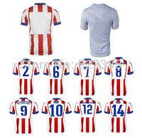 MANDZUKIC GODIN ARDA TURAN Koke Gabi Costa Madrid Jerseys Atletico 14 15 Home away Soccer Jersey camiseta de futbol Shirt