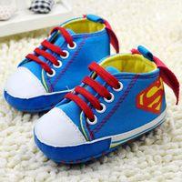 New 2014 Fashion Baby boy shoes Baby shoes First walker Newborn Kids shoes Brand Sapato bebe Infantil Blue batman design