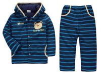 Boy's Winter Comfortable Warm Polar Fleece Sets with Hood, 6 Sizes/lot, 1-5 years - JBPS08/JBPS09/JBPS11/JBPS12/JBPS13/JBPS14