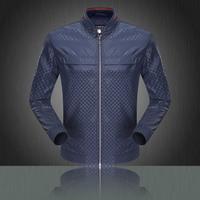 2014 men's jacket Men's casual jacket tide male fashion jacket thin coat