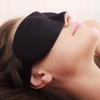 Hot sale Gift ,1pc Travel Rest 3D Sponge Eye MASK ,Sleeping Eye Mask Cover for health care to shield the light