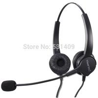 Binaural Noise Canceling Microphone Call Center Headset,RJ9 or Dual 3.5 mm PC plug,QD cable for Avaya,Cisco,earphone,headphone