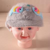 New listing fashion cartoon cute little fish velor warm velvet hat beanie baby hat for men and women