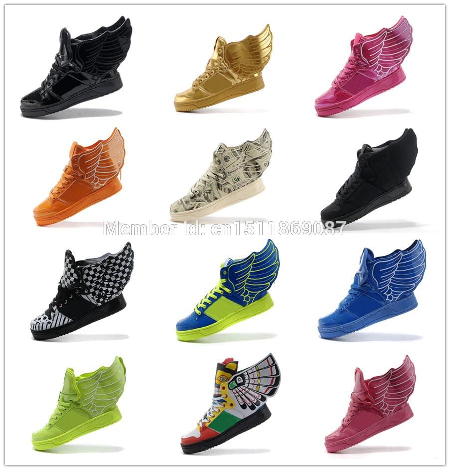 Onde pode comprar barato jeremy scott asas 2.0 sapatos com grátis frete onde comprar a melhor jeremy scott sapatos de couro para homens e mulheres(China (Mainland))