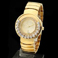 Fashion & Casual woman Dress Watches Luxury brand  Wristwatches Women Quartz Special ball slide design  Diamonds watches