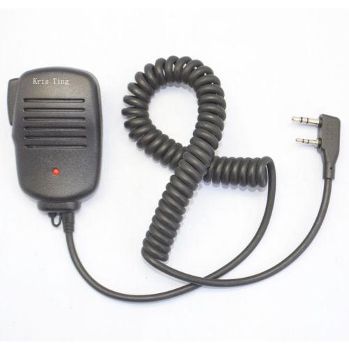 2015 New Speaker MIC for BAOFENG UV-5R 5RA/B/C/D/E UV-3R+ kenwood Walkie Talkie with free shipping(China (Mainland))