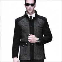 2014 New fashion brand men Jackets Autumn and Winter Jacket men Warm Wool Cashmere blend Coat Mens Coats 1368#(China (Mainland))