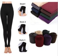 Wholesale 2014 New Leggings For Women Arrival Casual Warm Winter Lady  Legging Knitted Thick Slim Leggings Free Shipping