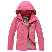 Wohai Sen (WHS) 2014 Spring new children's outdoor waterproof breathable jacket girls coat 3044906