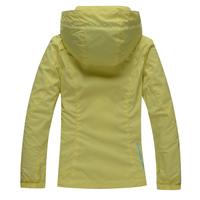 Wohai Sen (WHS) 2014 Spring new children's outdoor waterproof outdoor windbreaker jacket girls 3044905