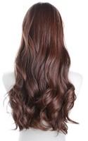 321 Genuine  wigs long curly hair female long paragraph air feeling Qi bangs big wave of hair