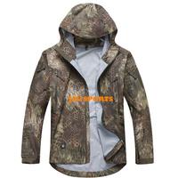 Tactical Gear Shooter Hardshell Jacket Outdoor Jacket In Kryptek Mandrake Hunting Jacket+Free shipping(SKU12050385)