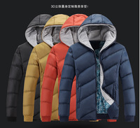 Ensure the quality sell at a low price 2014 mens thick winter warm hooded fleece, size: M - 5XL Free shipping