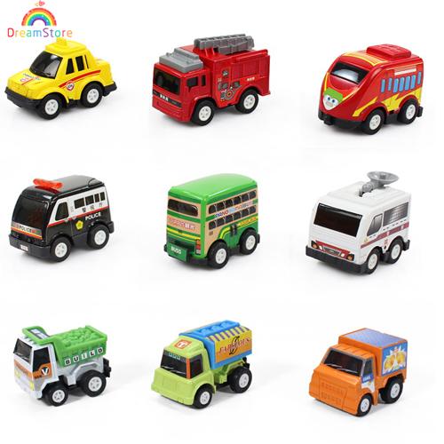 Multicolor Plastic Mini Pull Back Model Car Classic Educational Toys Kids Miniature Pixar Cars Toys for Children Boys Big Sale(China (Mainland))
