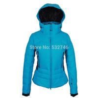 Wohai Sen (WHS) 2013 Winter Women waterproof breathable warm down jacket lady fashion casual jacket