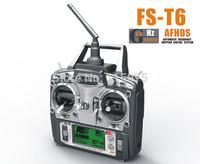 FlySky FS-T6/FS T6 2.4G Digital Proportional 6 Channels Transmitter & Receiver w/ LED
