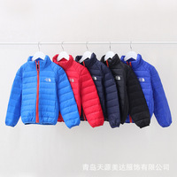 2014  winter children warm pure natural level down jacket lightweight small boys and girls short down jackets