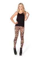 VOLFOUR 2014 New Fashion BLACK Milk Print leggings BABY GIRAFFE HIGH-WAISTED LEGGINGS Clothing Women Pants Free Shipping