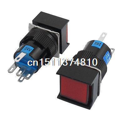 Кнопочный переключатель 2 24V DC