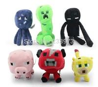 Wholesale 60 PCS Cartoon Minecraft Dolls Hight Quality Minecraft Plush Toys Minecraft Creeper Toys For Children