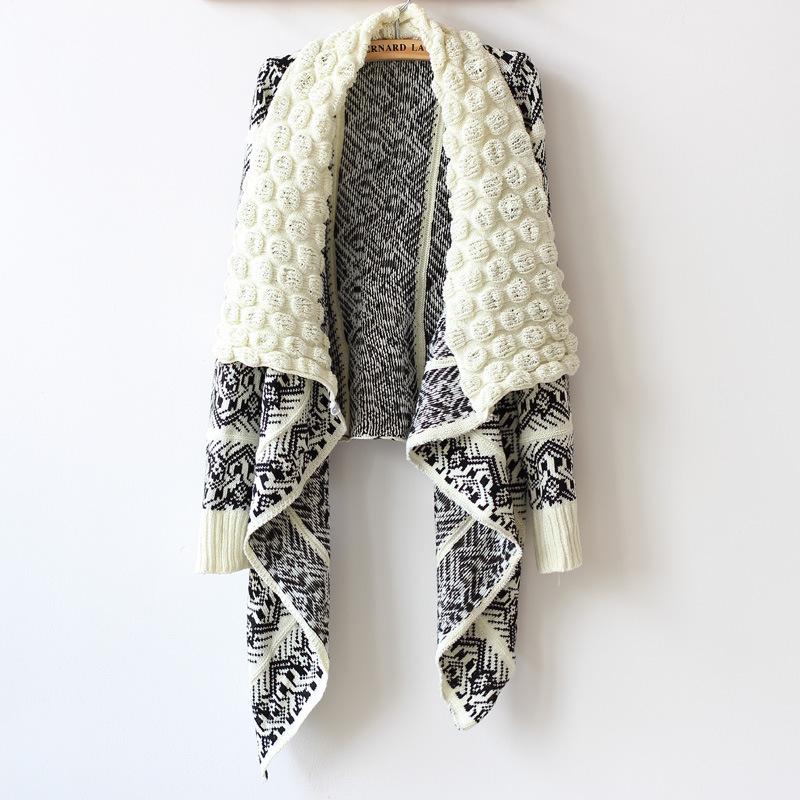 2015 Spring Cardigan Fashion Women Sweater Women Big Casual Knitting Sweater Women(China (Mainland))