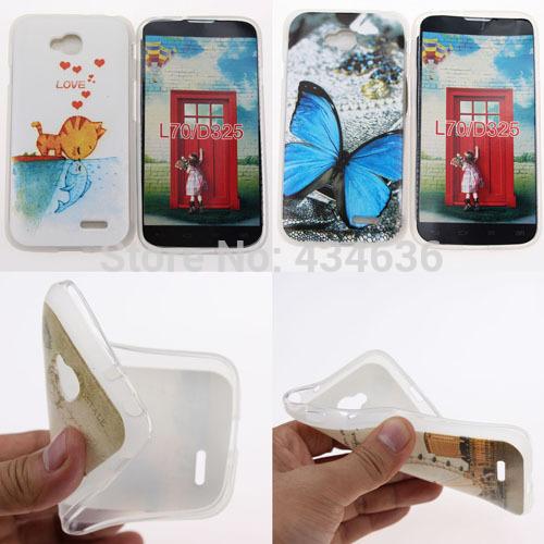 Чехол для для мобильных телефонов OEM 1 Case LG L70 D320 /sim D325 LG L70 For LG L70 D320 / Dual SIM D325