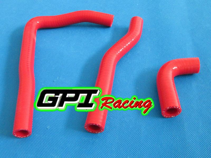 GPI silicone radiator hose FOR KAWASAKI KX65 KX 65 2000-2012 2001 2002 2003 2004 2005 2006 2007 2008 2009 2010 2011 RED(China (Mainland))