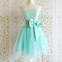 Autumn 2014 new arrivals green color tube top sweet cutss bridesmiad dresses,fashion popular short design mini vestido de festa