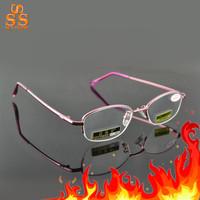 Genuine High Grade Brand Fashion Lighter Anti Fatigue Aspheric Hard Resin Lens Presbyopic Glasses,Eldly Reading Eyeglasses,G414