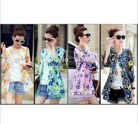 2014 Women's Summer Jacket New Female Clothes UV Sunscreen Lace Cardigan Jacket Sun Protection Clothing O-neck Coat Women