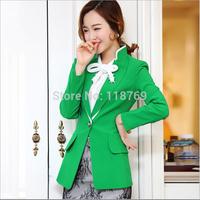2014 New Korean Version Women's Small Suit Hitz Female Coat Jacket Lady Small Suit Women Clothes
