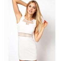 Sexy Women Sleeveless Bandage Prom Clubwear Bodycon Cocktail Party Dress