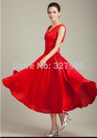 Modern dance one-piece dress q135