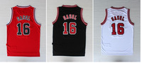 New jerseys Paul Gasol chicago #16 jersey 3 colors basketball jerseys mesh or rev 30 New Mateial ePacket free&fast shipping