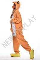 New Adult Kangaroo Onesies Pyjamas Unisex Pajamas Halloween Cosplay Costume Animal Dress