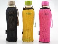 travel water bottle for bike biking bottle with soft holder