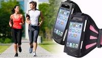 Mesh+PVC sports armband case