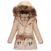 Free shipping  2014 New  Genuine  Winter Duck Down Jacket Kids,  Children's down jacket girls  Fashion casual  Thick coat