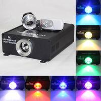 45W LED RGB optical fiber light source,AC90-260V input;with IR remote controller 4key Remote controller